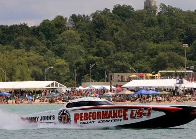 Great Lakes Grand Prix Performance Boat